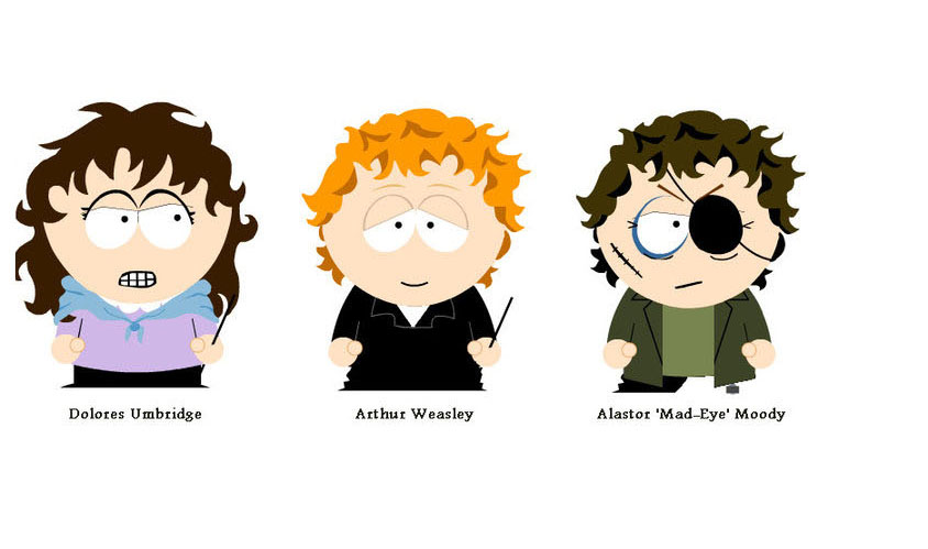 Harry Potter South Park