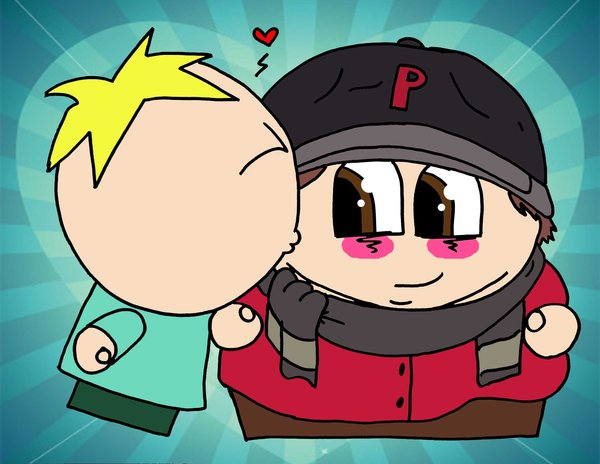 Butters and Eric Cartman